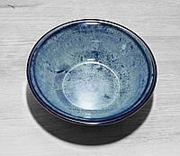 Салатник фарфоровый Corendon NanoKrem Blue 16см, фото 1