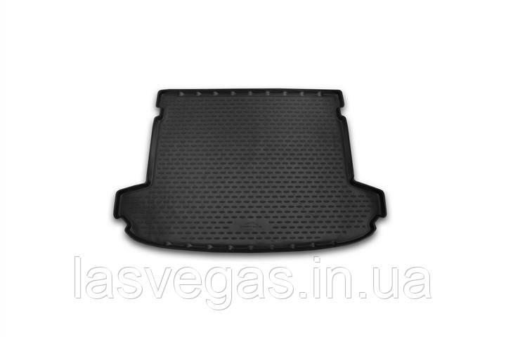 Коврик в багажник  KIA Sportage 2016- кросс. 1 шт. (полиуретан)