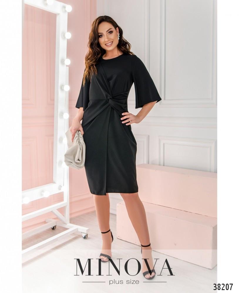 Платье №3136В-черный