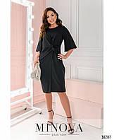 Платье №3136В-черный, фото 1