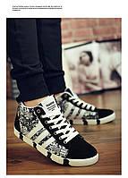 Мужские зимние ботинки 3 полосы