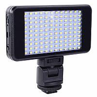 Светодиодный свет для камер Alitek LED VL011-120 (встроенный аккумулятор 4200 mAh) (550190)