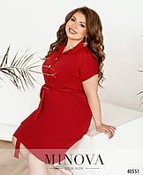 Платье №273-красный, фото 1