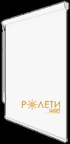 Ролета тканевая Е-Mini Лен 800 Белый