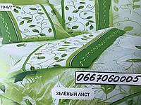 """Комплект постельного белья """"Тиротекс"""" - Зеленый Лист (2х - двухспальный размер)"""