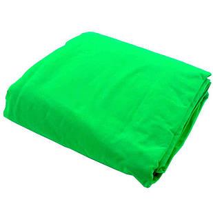 Фон тканевый зеленый для фотостудии 1.5х2.2 м Chromakey (udd55)