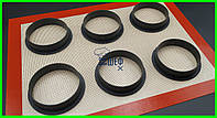 Набор перфорированных колец для тарт 6 штук Tarte Ring Round
