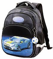 Школьный рюкзак для 1 класса ортопедический для мальчика Машина Winner One 1711 34*25*16 см