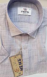 Однотонная льняная рубашка Nens