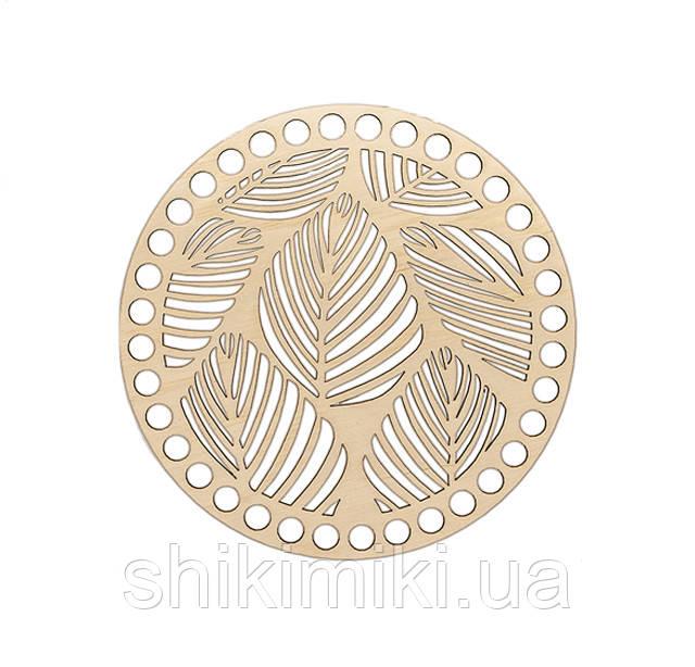 Заготовка из фанеры ажурная круглая -06 (18 см)