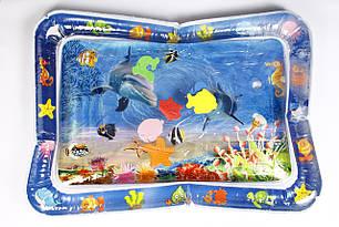 Развивающий игровой коврик с водой Lindo (F 2010)