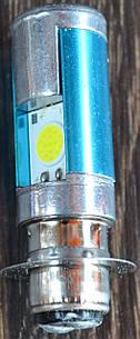 Лампа фары LED (2 диода 1 ус со стабилезатором (2762)
