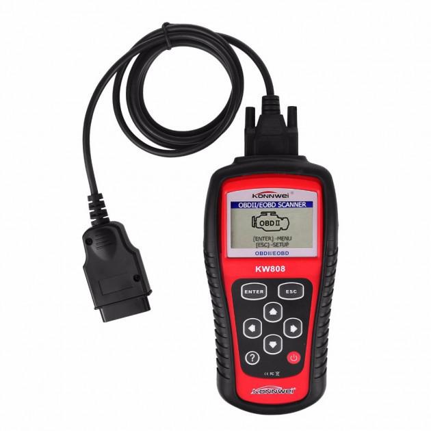 Автомобильный диагностический сканер Konnwei KW808 (DHJFKF89FJJFFF)