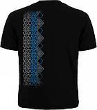 "Мужская футболка ""Узор"" с тризубом - размер M (46), фото 2"