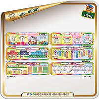 Склад числа, компоненти дій, звуки, мовна скарбничка, алфавіт, одиниці вимірювання.
