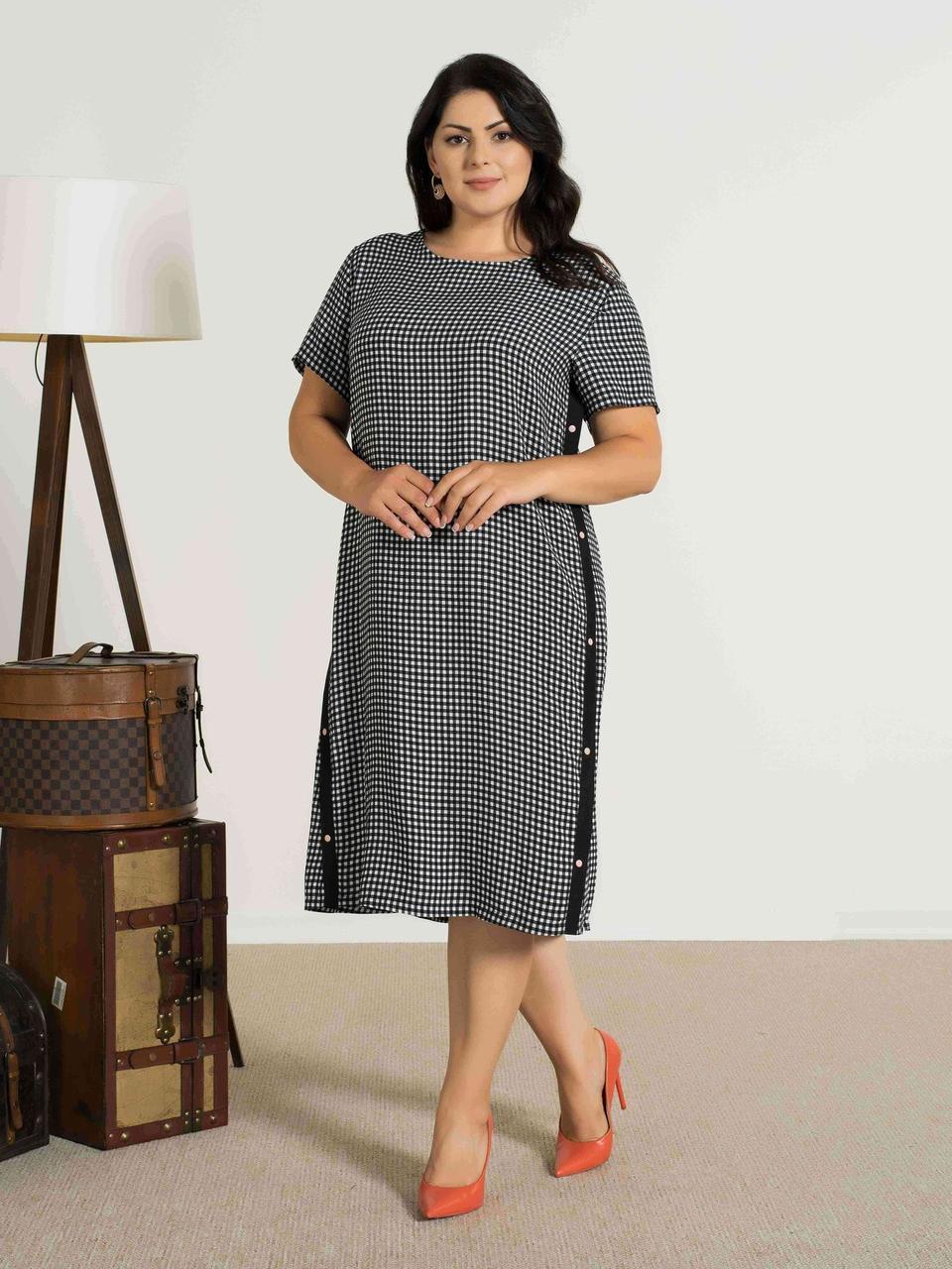 Жіноча літня сукня великих розмірів Cocoon 20436