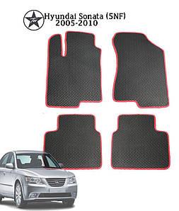 Коврики EVA в салон Hyundai Sonata NF 2005-2009. Star-Tex. 5 шт.