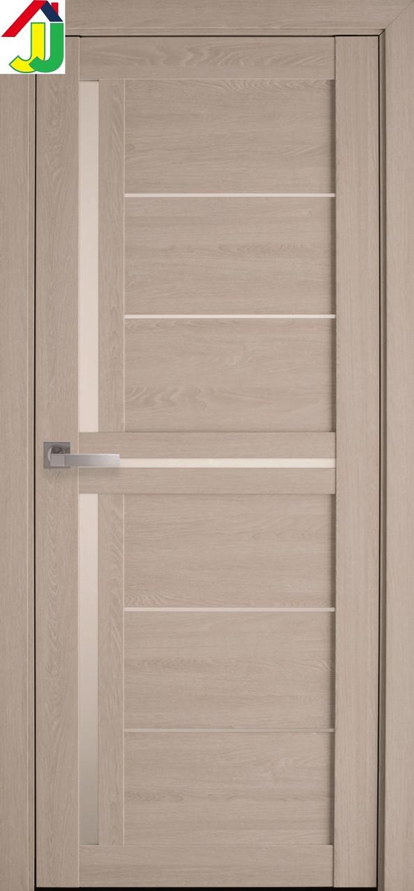 Двері міжкімнатні Новий стиль Діана ПВХ Мода ПВХ Ultra дуб молочний