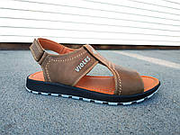 Сандалии кожаные мужские 40-45 размеры, фото 1