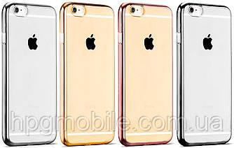 Чехол для iPhone 6 Plus, iPhone 6S Plus - Hoco Black Series Glint Plating TPU