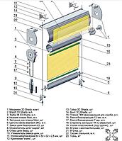 Коробовые ролеты Стандарт Standart 38