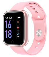 Smart Bracelet T80 Lemfo+браслета фитнес трекер розовый