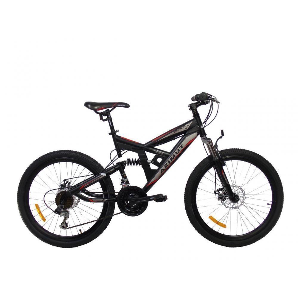 """Велосипед горный двухподвесный Azimut Shock 26"""""""