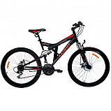 """Велосипед горный двухподвесный Azimut Shock 26"""", фото 2"""