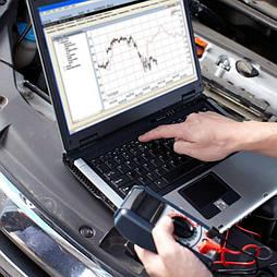 Компьютерная диагностика легкового автомобиля
