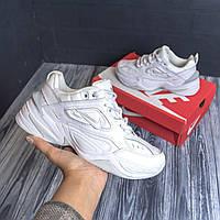 Кроссовки женские Nike M2K Tekno White / Белые кроссовки M2K Tekno от Nike (Найки)