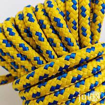 Шнур полипропиленовый (плетеный) 6 мм - 20 метров, фото 3
