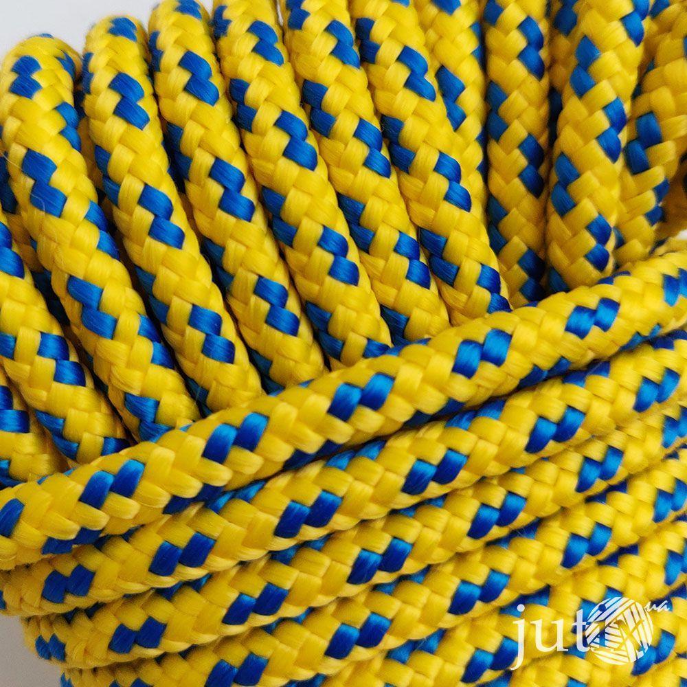 Шнур полипропиленовый (плетеный) 6 мм - 20 метров