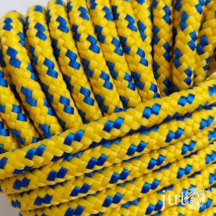 Шнур полипропиленовый (плетеный) 6 мм - 20 метров, фото 2
