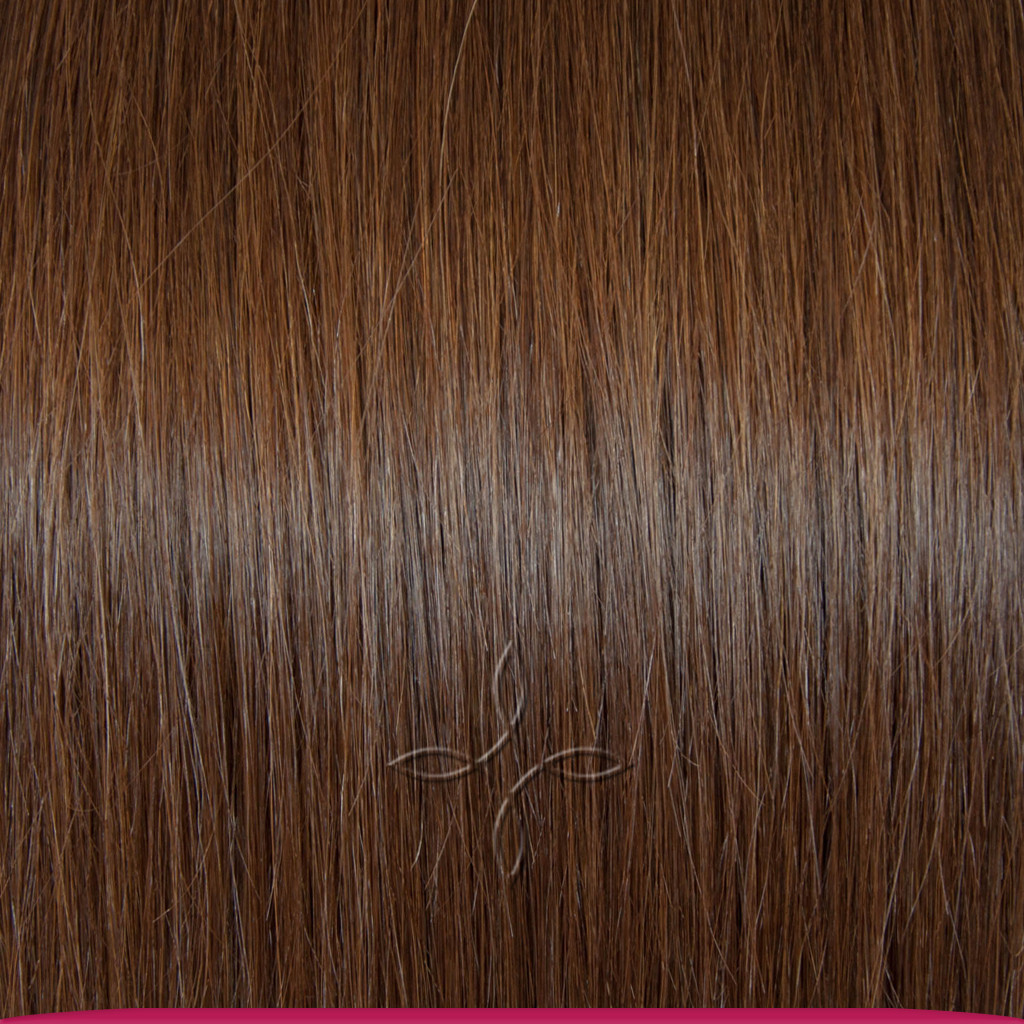 Натуральные Славянские Волосы на Заколках 65-70 см 115 грамм, Шоколад №04