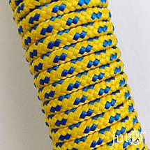 Шнур полипропиленовый (плетеный) 6 мм - 10 метров, фото 3