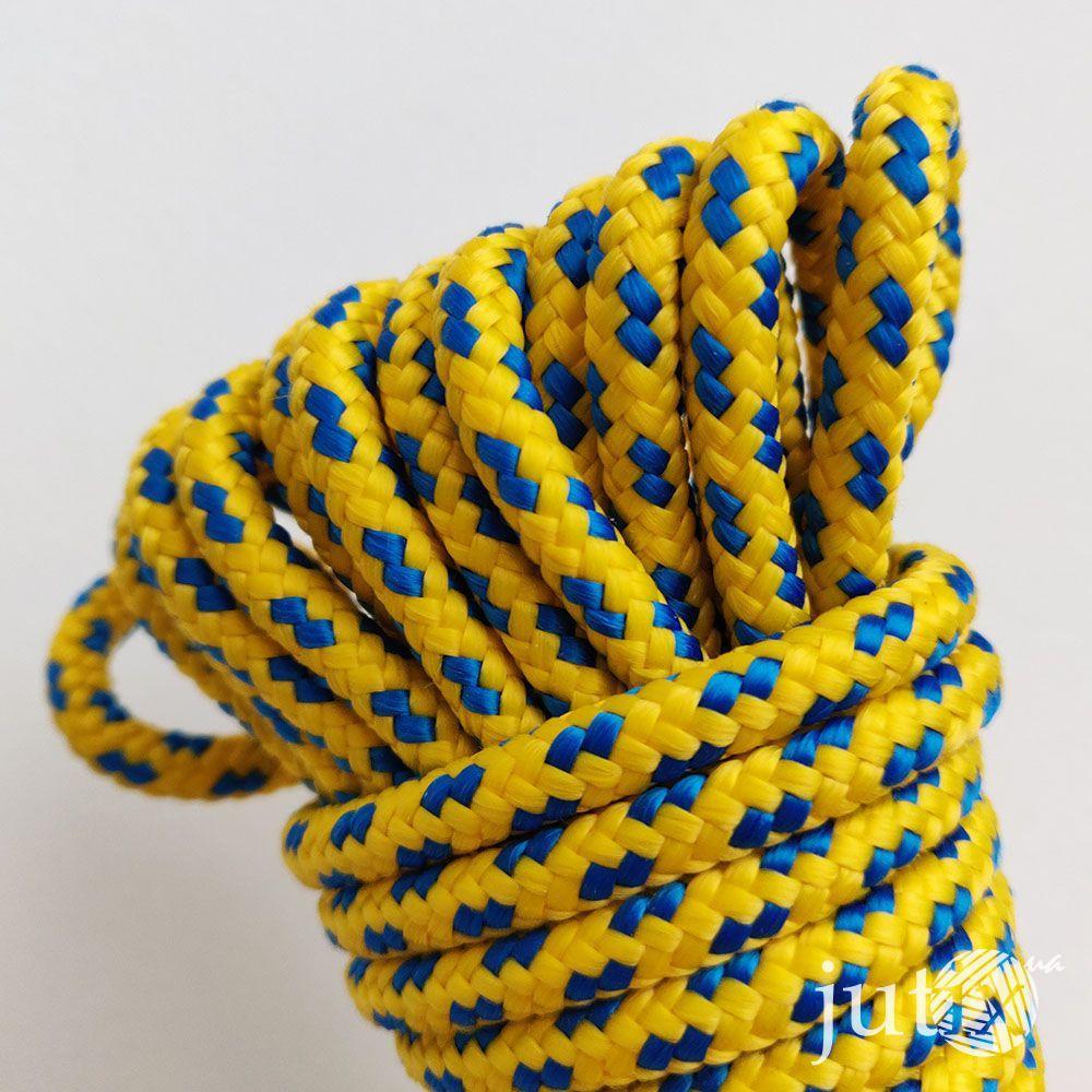 Шнур полипропиленовый (плетеный) 6 мм - 10 метров