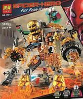 Конструктор Bela 11313 Super Heroes Супер герои Бой с Расплавленным Человеком