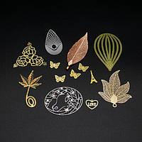 Металлические декоративные элементы из меди