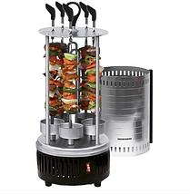 Домашняя электрошашлычница Domotec BBQ 1000W на 6 шампуров, фото 2