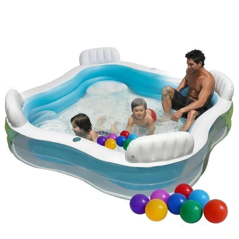 Детский надувной бассейн Intex 56475 (229х229 см)