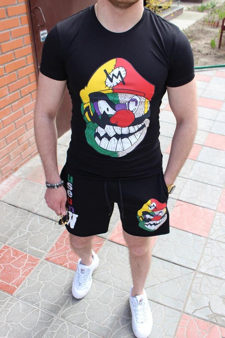 Комплект мужской Футболка+шорты Premium quality Турция