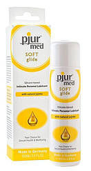 Силиконовая смазка pjur MED Soft glide 100 мл с маслом жожоба для очень сухой и чувствительной кожи