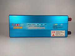 Инвертор 12-220 вольт 2200ватт