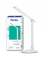 Настольная светодиодная лампа 9Вт DE1725 6400К белая