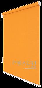 Ролета тканевая Е-Mini Лен 852 Оранжевый