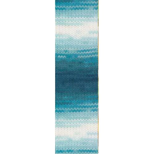 Пряжа для вязания Бургум батик 1892