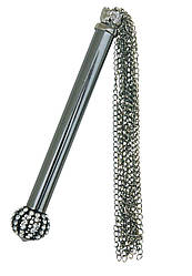Металлическая плеть Sportsheets Midnight Jeweled Chain Tickler