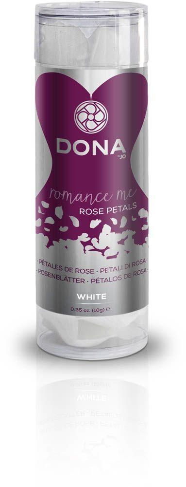 Декоративные лепестки розы DONA Rose Petals White, многоразовые, не вянут