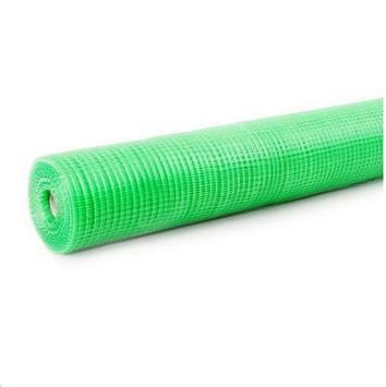Сетка пластмассовая квадрат 12*14 птичка 1.5*100 метров (зеленая)