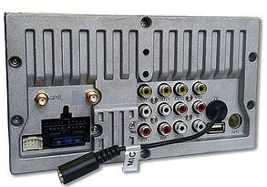 Автомагнітола 2 DIN SDUA-7060 Black/Multicolor MP5 ресивер, SHUTTLE, фото 2